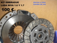 KIT DE EMBRAGUE LADA NIVA 1.6,1. KIT COMPLETO